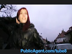 Preview 2 of Publicagent Bara Her Pussy Gets Wet Talking About Sex
