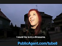 Preview 6 of Publicagent Bara Her Pussy Gets Wet Talking About Sex