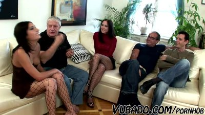 Some - foursome mom, wife fucking young boy Mature Moms TV