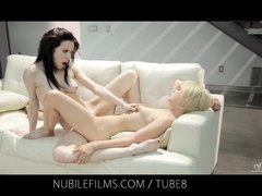 Preview 5 of Nubile Films Lesbian Lovers Share Sweet Pussy Juices