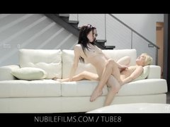 Preview 7 of Nubile Films Lesbian Lovers Share Sweet Pussy Juices