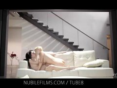 Preview 8 of Nubile Films Lesbian Lovers Share Sweet Pussy Juices