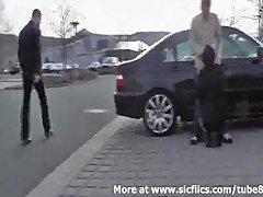 Preview 8 of Street Hooker Fist Fucked In Public
