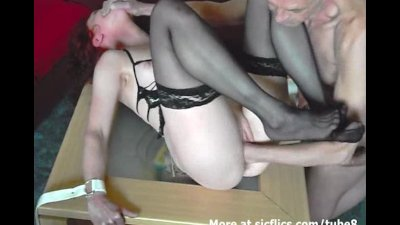 amateur housewife fist fucked in bondage