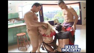 Annette Schwarz And Tori Lane Hot Foursome