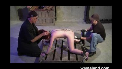 BDSM Master Trains Dungeon Apprentice How To Flog And Sexually Torment Girl
