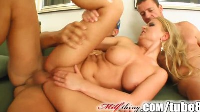 Milf Thing Old school porn MILF still has what it takes to fuck