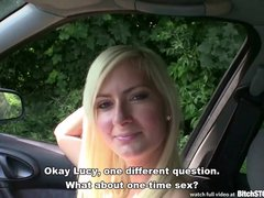 Preview 2 of Bitch Stop - Hot Czech Blonde With Squirting Pussy