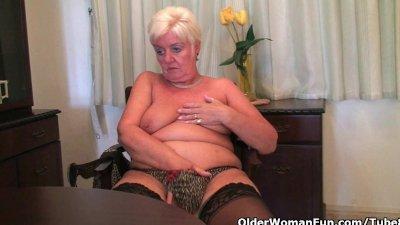 Grandma needs an orgasm right now!