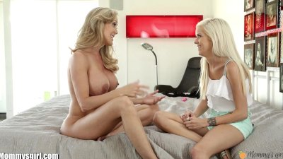MommysGirl Teens FIRST lesbian Sex with step-mom FULL SCENE