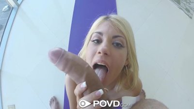 HD - POVD Hot Kayla Kayden flaunts her ass and pussy in yoga