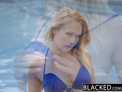 BLACKED Two BBC and a Pretty Blonde Teen Dakota James