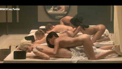 Sylvia Kristel Laura Gemser and Catherine Rivet nude from Emmanuelle 2