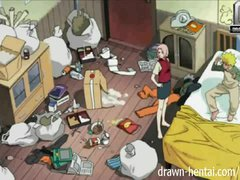 Preview 1 of Naruto Porn - Dirty Room Benefits