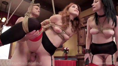 House Slaves Anal Threesome