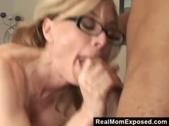 Preview 3 of Realmomexposed - Horny Milf Gets Double Penetrated