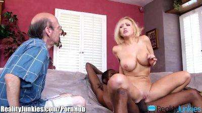 Kagney Linn Karters Black Cocked Cuckold