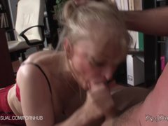Preview 5 of Nina Hartley Is A Slutty Corporate Stepmother