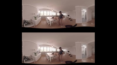 VR Porn 360 Fucked on the table
