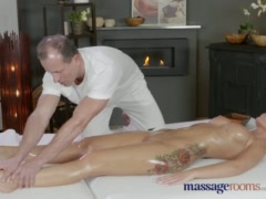 Preview 4 of Massage Rooms Horny Milf Wanks Sucks And Fucks Hard Dick Like A Pro