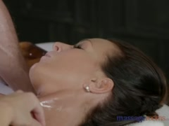 Preview 6 of Massage Rooms Horny Milf Wanks Sucks And Fucks Hard Dick Like A Pro