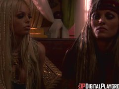 Preview 1 of Digital Playground- Jesse Jane And Janine In Final Scene Of Pirates 1