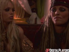 Preview 2 of Digital Playground- Jesse Jane And Janine In Final Scene Of Pirates 1