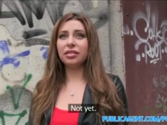 Preview 2 of Publicagent Hot Russian Loves Fucking In Public