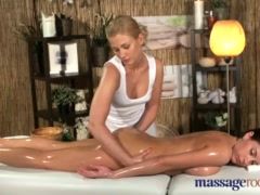Preview 5 of Massage Rooms Young Big Tits Lesbian Enjoys Hot Blonde Teen Sex