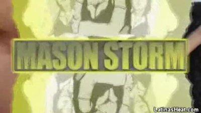 Latina Honey Mason Storm Jizzed