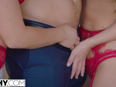 TUSHY Carter Cruise and Adriana Chechik Have an Unexpected Threesome