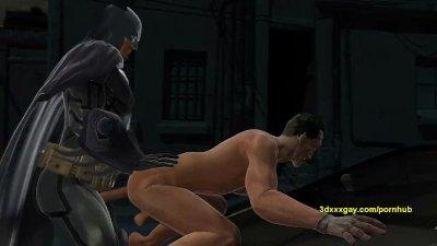 Batman gets to take jokers tiny asshole