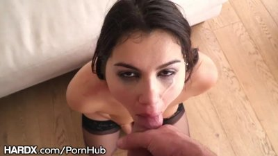 HardX POV Ball Sucking with Ass Fucking