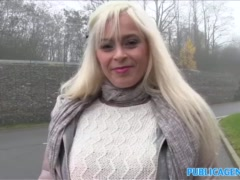 Preview 5 of Public Agent Vacationing Italian Babe Fucked In Car By Local
