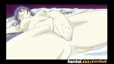 Hentai.xxx - Tied up sucking cocks
