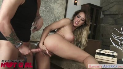 Capri Cavanni fucks her boyfriend\'s pal - Naughty America