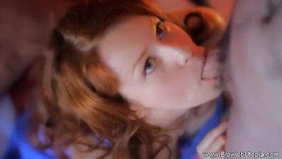 Beautiful Exotic Redhead BJ MILF