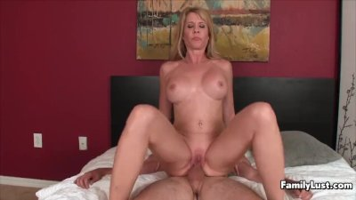 Step Mom Impaled by Big Dick Step Son