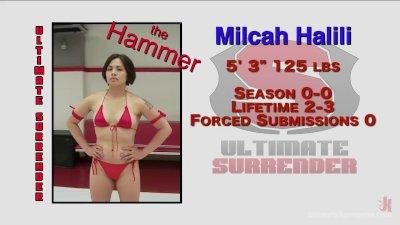 Asian erotic wrestler takes on hot limber Savanna Fox