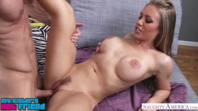 Blonde babe Nicole Aniston fucks her friend\'s brother - Naughty America