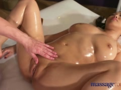 Preview 8 of Massage Rooms Big Natural Tits Asian Beauty Has Squirting Orgasms