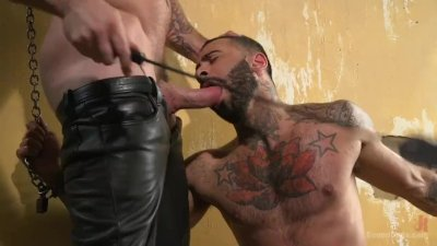 Mr. Ducati\'s New Fuck Toy is Chained up and Ruthlessly Flogged