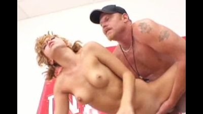 smalltitty blondeschoolgirl gets her pussy fingered and fucked hard by her PE teacher