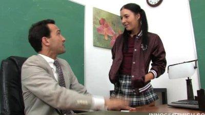 cute latina teen fucked by her horny teacher