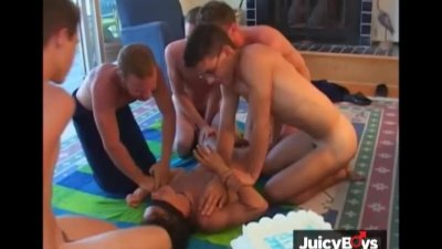 Bareback Twink Orgy S02