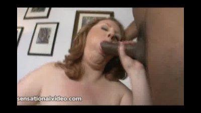 BBW Superstar Sapphire 38L Loves to Suck on Big Black Dicks