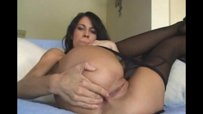 Anal chick fucked in stockings