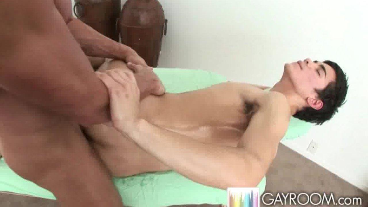 Porn tube Interracial gang bang free porn video