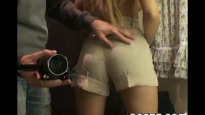 Fantastic teen naked in fitting room
