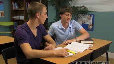 Gay Cuties Classroom Fuck
